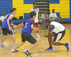 D153257A (RobHelfman) Tags: sports basketball losangeles highschool palisades crenshaw tnl tuesdaynightleague