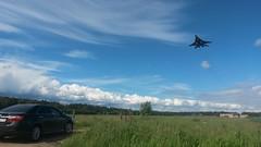 "Mig 29 Russian aerobatic team ""Swifts"" landing (Sankab) Tags: sky airplane aircraft aviation air airplanes flight landing takeoff spotting mig"