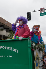 Captain Loser (UnsignedZero) Tags: california weather out outside outdoors cloudy outdoor object clown roseparade santarosa item outsides celebrationevent santarosadowntown