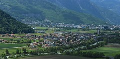 Massongex, Monthey (bulbocode909) Tags: suisse maisons vert rhne villages bex printemps paysages valais vaud monthey massongex plainedurhne