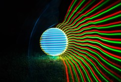LED comet. (Nikolas Fotos) Tags: longexposure lightpainting orb sphere lichtmalerei lightart longexposurephotography llightpainting lightpaintingphotography peintureclaire