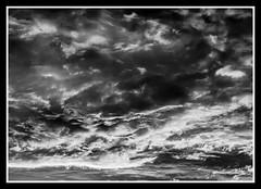 Clouds Ilford Pan F Plus 50 (veggiesosage) Tags: blackandwhite clouds fujifilm x20 dxofilmpack fujifilmx20