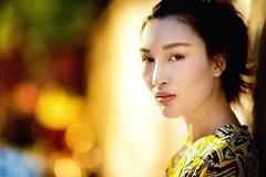 JJT 3 (Jonathan Kos-Read) Tags: sun hot color girl beautiful eyes bokeh chinese sunny stare