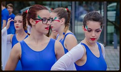 Members of the Italian team (frankmh) Tags: italy sport skne sweden outdoor gymnast teenager helsingborg
