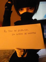 Ace doll shaming lol (AliceBloodyR) Tags: ball doll ninja ace mind bjd dim jointed