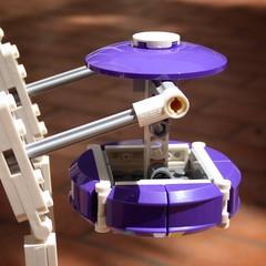 Gondola Viola - Lego 10247 - Ferris Wheel (Moro972) Tags: light day lego details violet panasonic ferriswheel gondola dettagli viola luce giorno 2016 ruotapanoramica 10247