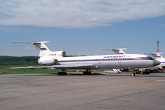 RA-85418 Tupolev TU-154B-2 Aeroflot (pslg05896) Tags: krasnoyarsk yemelyanovo kja unkl ra85418 tupolev tu154b2 aeroflot krasair tu154