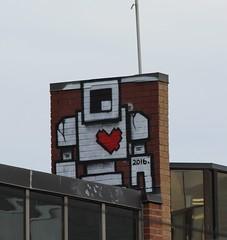 Toronto Street Art (jmaxtours) Tags: streetart toronto graffiti torontostreetart lovebot streetarttoronto
