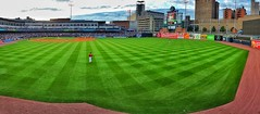 20160628_201635-01 (alexrupp426) Tags: ohio panorama sun evening downtown baseball outdoor dusk toledo ballgame fifththirdfield mudhens norfolktide downtowntoledo