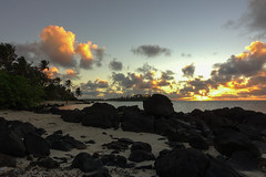 Cook Islands - Rarotonga (Freckles033) Tags: beach sunrise lagoon cookislands rarotonga pacificislands