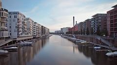 Westhafen so quiet (Dan_Khan) Tags: city longexposure frankfurt westhafen nd1000 canonef2485mmf3545usm canoneos5dmkii darktable