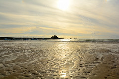 Summerleaze Beach (CAscotPhotography) Tags: cascotphotography cornwall bude beach summer sun sunset intothesun nikon d7100