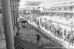 Expo 2015 @Milano (Lord Seth) Tags: 2015 d5000 lordseth bw biancoenero espozioneuniversale expo italy milan milano nikon padiglioni thailandia