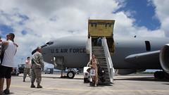 160620-Z-IX631-177 (Hawaii Air National Guard) Tags: hawaii us unitedstates return deployment kc135 hawaiiairnationalguard jointbasepearlharborhickam 203rdars