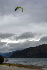 On the Run (Jocey K) Tags: autumn trees newzealand sky people mountains clouds wind autumncolours southisland centralotago windsurfing windsurfer lakewanaka tripdownsouth