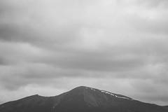 Peak (ChrisDale) Tags: england blackandwhite cloud mountain lake snow landscape mono graphic district derwent horizon lakes lakedistrict peak overcast ridge cumbria derwentwater keswick cloudscape mountainridge chrisdale chrismdale