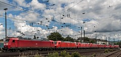 0501_2016_06_18_Koblenz_Lokparade__DB_Lokzug_145_071_mit_185_186_185_371_185_285_145_035_151_155_151_073_145_026 (ruhrpott.sprinter) Tags: railroad ice train germany logo deutschland bonn diesel outdoor natur eisenbahn rail zug blumen kln sandwich db cargo 101 nrw passenger fret rhein gelsenkirchen ruhrgebiet freight e14 locomotives cfl limburg mosel 139 185 151 152 rheinlandpfalz lokomotive 145 482 vias sprinter ruhrpott 294 e19 648 643 gter 0428 tdr 0037 dispo prellbock 6139 6185 mrce akiem reisezug 0460 dispolok 4482 sbbc rb23 ellok koblenzltzel es64f4 transregio vtgd
