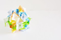 Octella Kusudama (Byriah Loper) (Byriah Loper) Tags: paper origami polygon paperfolding polyhedron origamimodular byriahloper