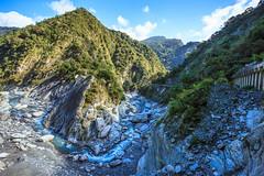 Taiwan-121115-375 (Kelly Cheng) Tags: travel tourism nature water rock horizontal river landscape daylight asia day outdoor taiwan vivid nobody nopeople canyon tarokonationalpark tarokogorge  traveldestinations  northeastasia