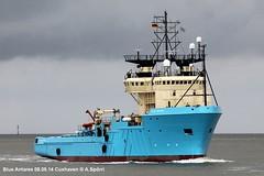Blue Antares (andreasspoerri) Tags: dänemark cuxhaven versorger örskovchristensenfrederikshavn blueantares imo8401949 maerskchieftain oilchieftain storfonn