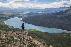 Overlooking Lower Two Medicine Lake (GlacierNPS) Tags: glaciernationalpark montana twomedicine nature outdoors nps nationalparks spring