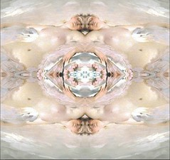 2016-06-19 symmetrical nude paintings 4 (april-mo) Tags: symmetry symmetrical symtrie nu nude painting womanportrait art experimental experimentaltechnique collage