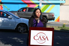 CASA Youth Leadership Academy Mural