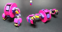 MRL - LIMIT (FEDOKBAK) Tags: wheel race robot lego mecha mrl mech moc