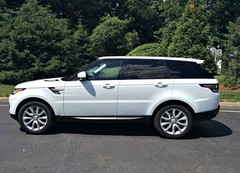 Land Rover - Range Rover Sport HSE - 2014  (saudi-top-cars) Tags: