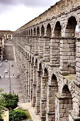 Ancient Rome. Roman Aqueduct, Segovia, Hispania (Spain), 2nd century CE (mike catalonian) Tags: spain aqueduct segovia ancientrome hispania 2ndcenturyce