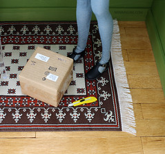 What is inside the parcel this time? (MINIMAGINE) Tags: momokodoll playscale dolldiorama