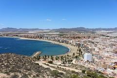 Aguilas.Regin de Murcia (Ruben Juan) Tags: sea espaa beach canon puerto mar spain pueblo playa paisaje murcia vista castillo canonista eos700d