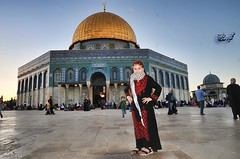 Palestinian, and I'm proud (TeamPalestina) Tags: heritage beautiful architecture sunrise hope amazing photographer sweet palestine jerusalem domeoftherock blockade ramadan freepalestine alaqsa palestinian occupation goldendome  oldcityjerusalem landscapecaptures