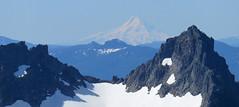 MtHoodFromRainier2 (Aubrey Sun) Tags: park camp volcano washington mt mount national rainier cascades wa hood muir