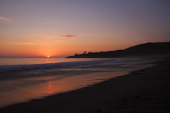 Reflections (emmmmpai) Tags: beach shore coast dana point danapoint summer sunset dawn sun shadows dark sky clouds birds cliffs waves water ocean outside outdoors beautiful california sand surf