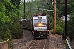The Bend into Lyons (Adrian Corus) Tags: new branch nj rail line transit jersey alp gladstone tran lyons njt 4603 6431 alp46 njtr