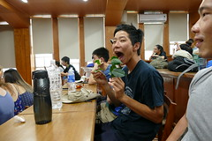P1000410 (isobelannan) Tags: reading book yum tea ceremony class ntu greentea mammals oolong formosantea