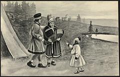 Same-familie / Sami family (National Library of Norway) Tags: men barn children women families postcards sami menn samer familier postkort kvinner nasjonalbiblioteket nationalcostumes komser komse nationallibraryofnorway folkedrakter folkegrupper samedrakter