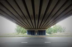 onder viaduct Reijerscop Overgang (bcbvisser13) Tags: viaduct brug symetrie panorama doorkijk snelweg a12 weg reijerscopseovergang reijerscop harmelen gemwoerden provincieutrecht nederland eu