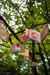 (Yorkey&Rin) Tags: june japan tokyo shrine bokeh olympus shinagawa rin 2016    em5  ebarashrine lumixg20f17 t6261210