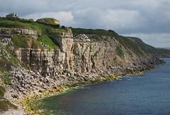 cliffs at freshwater bay (Johnson Cameraface) Tags: summer holiday june portland olympus dorset f28 portlandbill em1 2016 freshwaterbay 1240mm micro43 mzuiko johnsoncameraface omde1