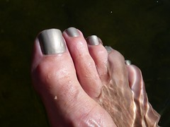 Summer Gray (toepaintguy) Tags: boy summer man sexy male men guy feet water glitter fun foot gold shiny toe shine masculine sandals gorgeous nail gray tan polish glossy nails fingernails gloss fingernail sandal toenails allure toenail daring lacquer