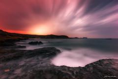 Amanece en La Higuera. (Jose HL) Tags: luz mar mediterraneo arte playa murcia amanecer temporal largaexposicin lahiguera josehernandez largaexposicindiurna