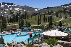 High Camp (cowart_brian) Tags: travel summer snow mountains pool festival bar swimming canon photography photo spring photoshoot hiking relaxing roadtrip wanderlust adventure explore skiresort squawvalley pools reward rei wander squaw highaltitude poolparty photooftheday highcamp pathes sierraneveda sierranevedas canon7d poolwithaview briancowartphotography optoutside elevationswimming shirelycreektrail bestpools