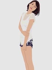 Aibu Saki (nabewata) Tags: illustration saki    aibu
