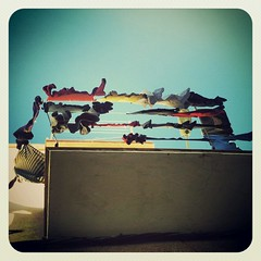 Ten De De Ro. (Yeinnito) Tags: light sky luz colors square cuerda clothing rope colores cielo squareformat ropa tendida lomob instagram instagramapp flickrandroidapp:filter=none uploaded:by=flickrmobile
