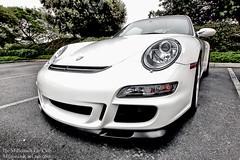 White Porsche 911 GT-3 Front Quarter (Winning Agent) Tags: car automobile 911 fast automotive turbo german porsche gt carshow horsepower porsche911 gt3