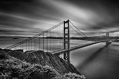 The Golden Gate Bridge 76th Birthday Celebration  **EXPLORE** (Andrew Louie Photography) Tags: life birthday camera morning bridge white black coffee canon landscape flow photography golden gate san francisco long exposure cityscape dynamic chocolate sunday joy celebration abundant alcatraz easy spencer drama 76