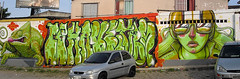 Big Wall at Av. Expressa (Valdi-Valdi) Tags: street floripa brazil urban streetart art beauty face brasil female graffiti artist character florianpolis cartoon spray urbanart artistas urbano graff bomb bombing spraypainting spraycan grafite artederua arteurbana