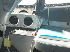 Douglas EKA-3B Skywarrior cockpit P5120780 (wbaiv) Tags: douglas a3 a3d a3d2 skywarrior whale us navy twin engine jet long range bomber refueling tanker air hose drogue electronic warfare reconnisance alameda naval station vah oakland aviaion museum california cockpit eka3b buair 147666 airplane plane aircraft flying machine powered full size ka3b now aviation formerly western heavy jamming intelligence 1950s 1960s 1970s coldwar vietnam 1997 gray outdoor vehicle a3b ea3b eka3